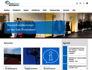 sekrickenbach.ch screenshot