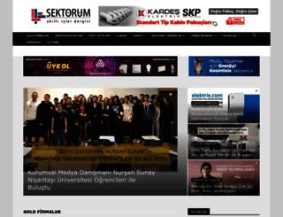 sektorumdergisi.com screenshot