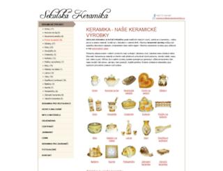 sekulskakeramika.cz screenshot