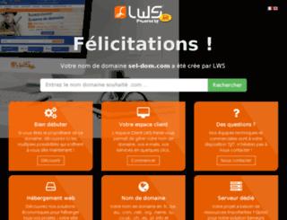 sel-dom.com screenshot
