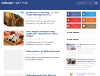 selarasindah.net screenshot