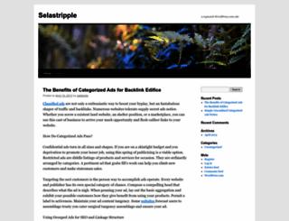 selastripple.wordpress.com screenshot
