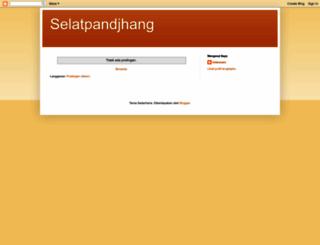 selatpandjhang.blogspot.com screenshot
