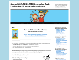 selberlesen.wordpress.com screenshot