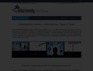 selbststaendig-machen.net screenshot