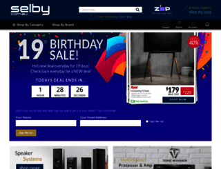 selby.com.au screenshot