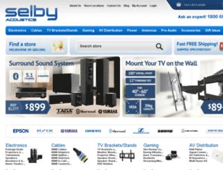 selbyacoustics.com.au screenshot