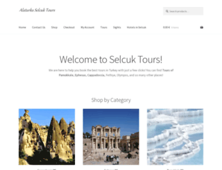 selcuktours.com screenshot