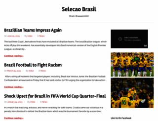 selecaobrasil.com screenshot