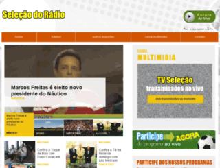 selecaodoradio.com.br screenshot