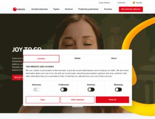 selecta.es screenshot