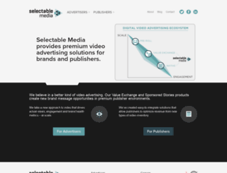 selectablemedia.com screenshot