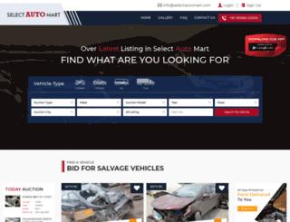 selectautomart.com screenshot