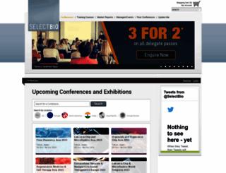 selectbiosciences.com screenshot
