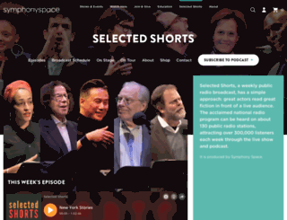 selectedshorts.org screenshot