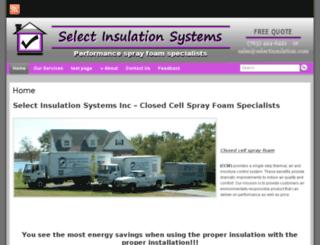 selectinsulation.com screenshot