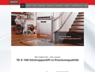 selectiv-treppenlifte.at screenshot