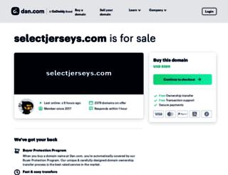 selectjerseys.com screenshot