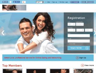 selectlovedating.com screenshot