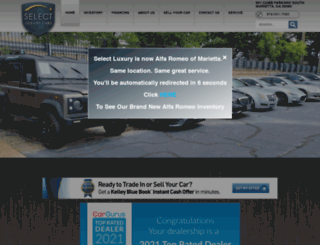 selectluxury.com screenshot