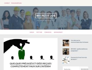 selectmyjob.lu screenshot