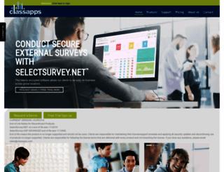 selectpoll.com screenshot