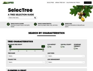selectree.calpoly.edu screenshot