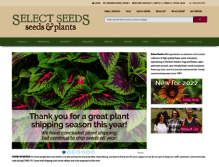 selectseeds.com screenshot