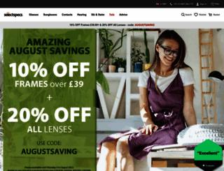 selectspecs.com screenshot