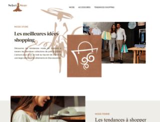selectstore.fr screenshot