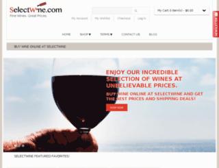 selectwine.com screenshot