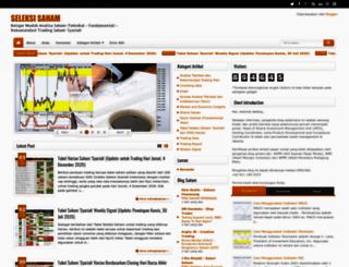 seleksisaham.blogspot.com screenshot