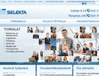 selekta.info screenshot