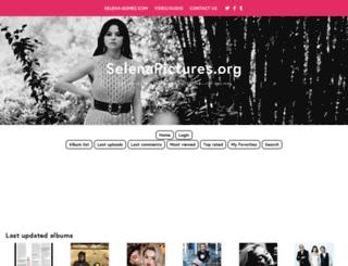 selenagomez.org screenshot