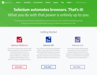 seleniumhq.org screenshot