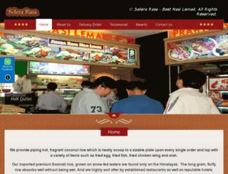 selerarasa.com screenshot
