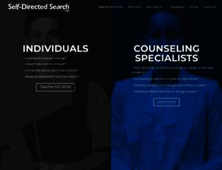 self-directed-search.com screenshot