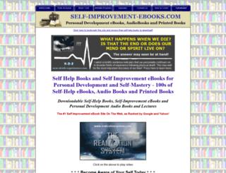 self-improvement-ebooks.com screenshot