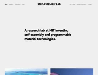 selfassemblylab.net screenshot