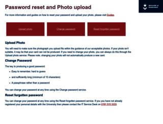 selfcare.sunderland.ac.uk screenshot