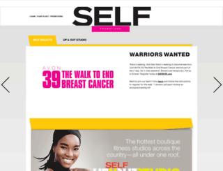 selfcurated.self.com screenshot