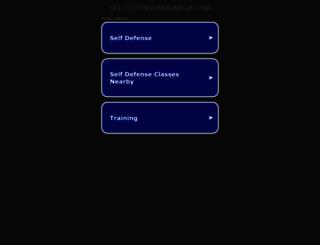selfdefensekravmaga.com screenshot