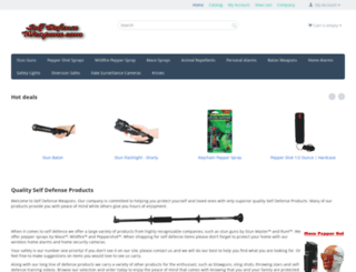 selfdefenseweapons.com screenshot