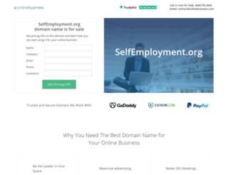 selfemployment.org screenshot