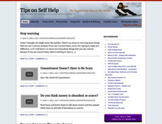 selfhelpdailyadvice.com screenshot