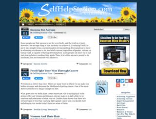 selfhelpstation.com screenshot