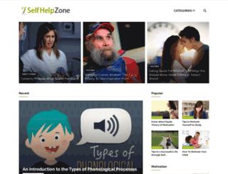 selfhelpzone.com screenshot