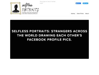 selflessportraits.com screenshot