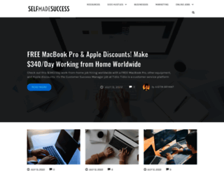 selfmadesuccess.com screenshot