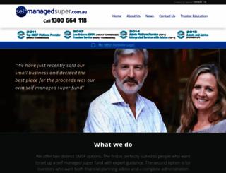 selfmanagedsuper.com.au screenshot
